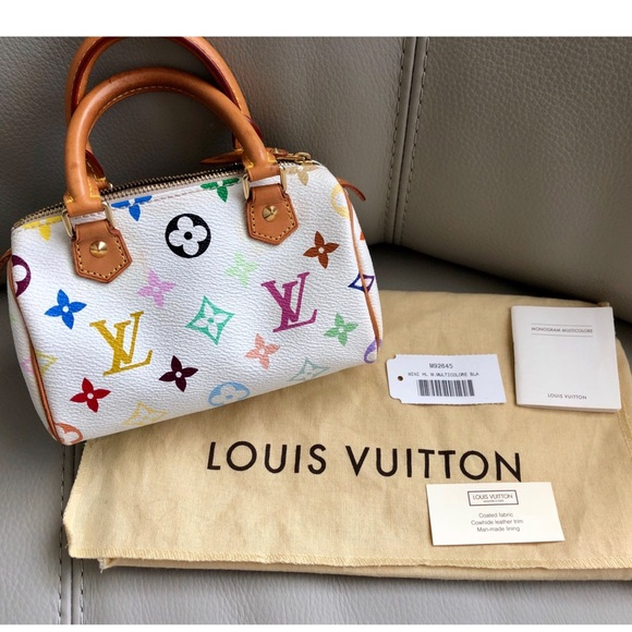 84e6ee6e6175 Louis Vuitton Handbags - Louis Vuitton Mini Sac HL Multi Color Mini Speedy